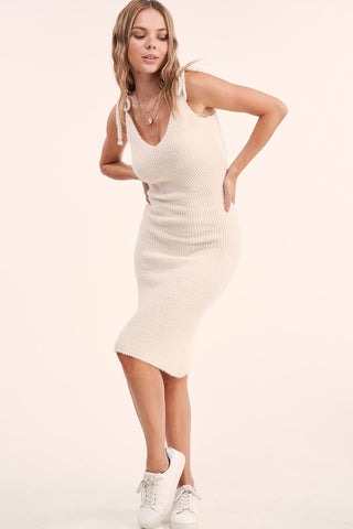 Hamlin Lightweight Sweater Midi Dress