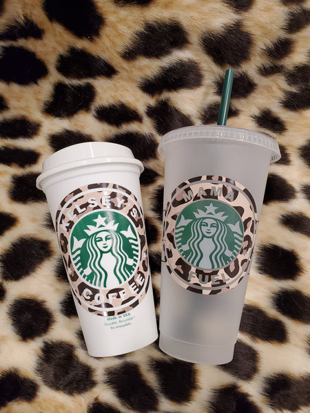 Custom Reusable Grande Coffee Cups (16oz)