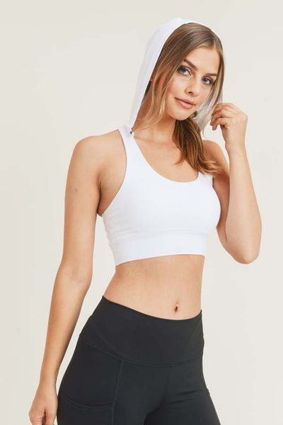 Hector Hooded Sports Bra
