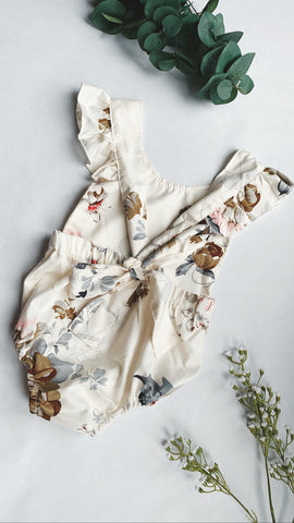 Dolly Floral Romper