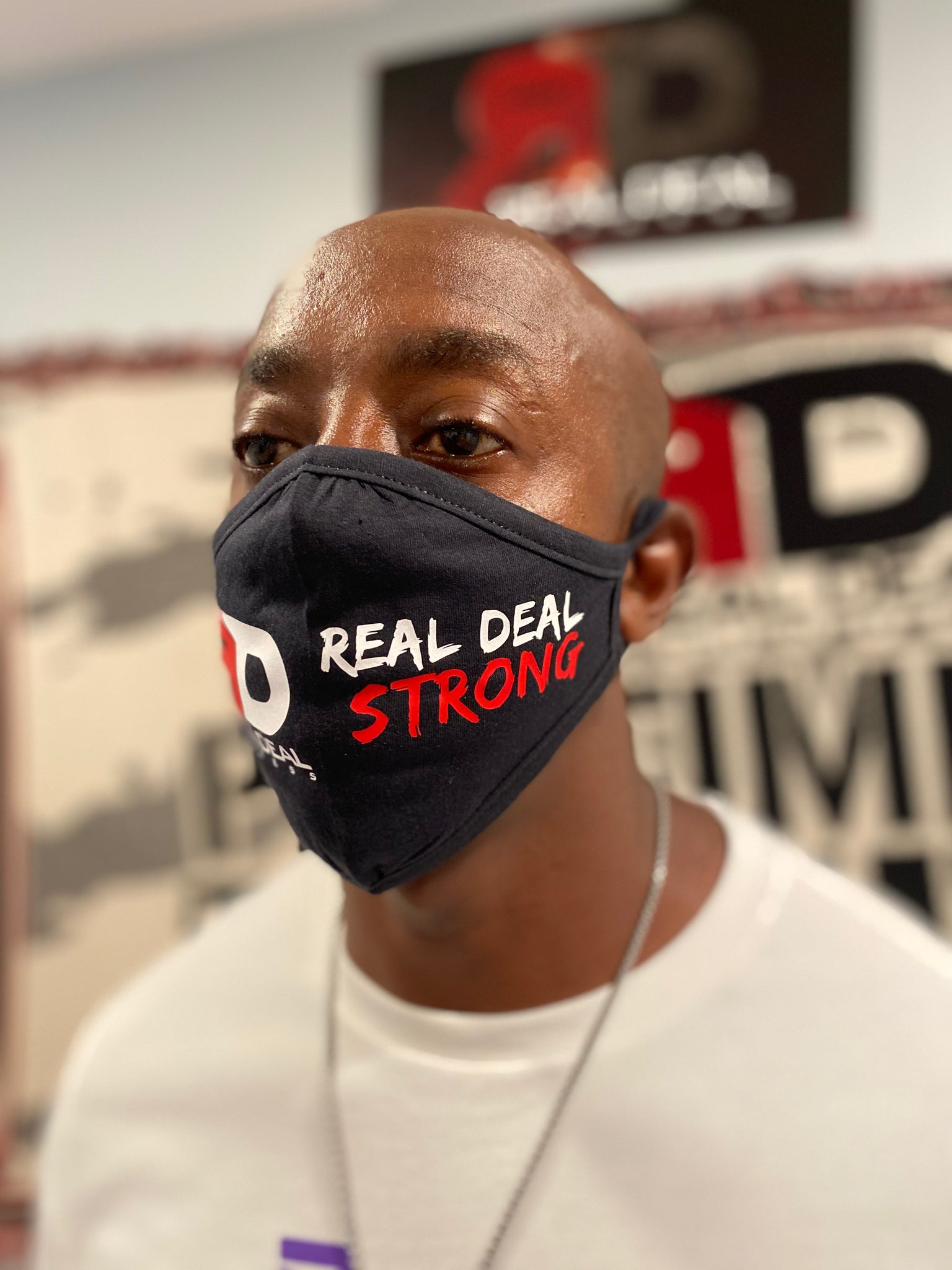 REAL DEAL FITNESS Mask 'REAL DEAL STRONG'