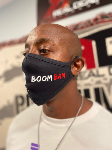 REAL DEAL FITNESS Mask 'BOOM BAM'