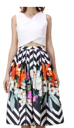 Savannah Wrap Across Crop Top
