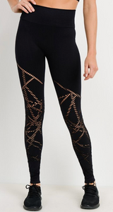 Ada Cut Out Full Length Leggings