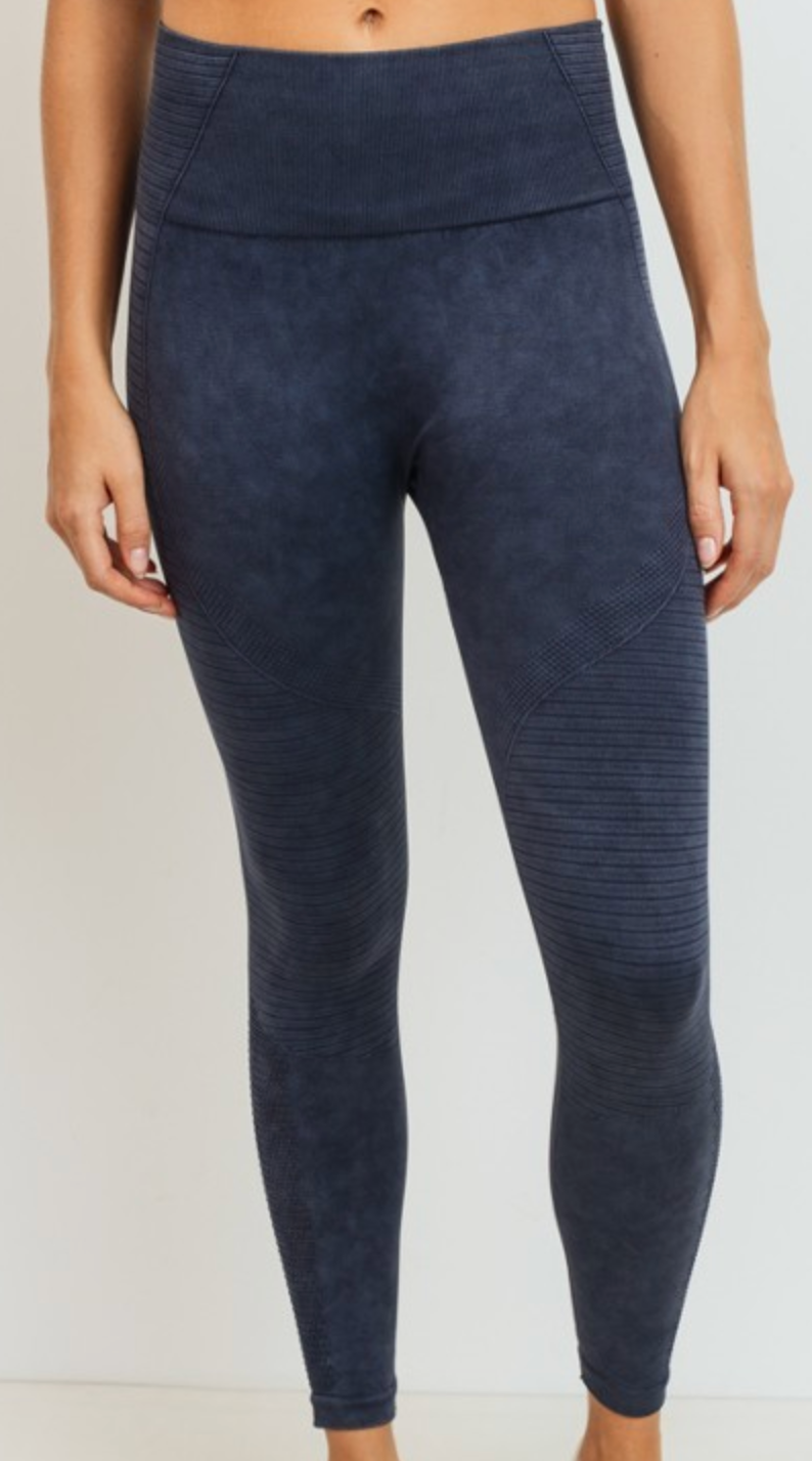 Trinity Full Length Seamless Paneling Leggings