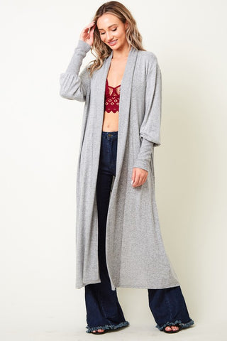 Jenna Marie Long Cardigan Duster