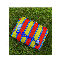 Dick Bruna - LeSportsac XL Rectangular Cosmetic - Accessory - Sunny Stripe Miffy -  Social