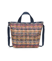Easy Carry Tote, Nylon Tote Bags, LeSportsac, Catalina print