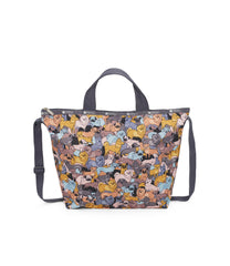 Easy Carry Tote, Nylon Tote Bags, LeSportsac, Kon and Friends print