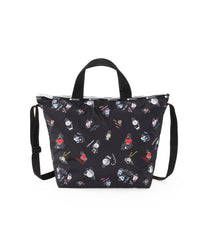 Easy Carry Tote, Line Friends, BTS Tote Bags, LeSportsac, BT21 Black