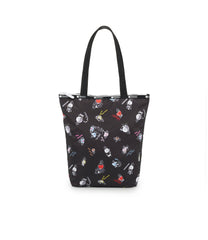 Daily Tote, Line Friends, BTS Tote Bags, LeSportsac, BT21 Black