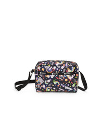 Daniella Crossbody, Nylon Handbags and Classic Purses, Yaas print