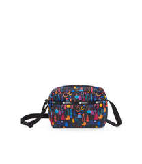 Daniella Crossbody, Nylon Handbags and Classic Purses, Adorn print