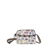 Daniella Crossbody, Nylon Handbags and Classic Purses, LeSportsac History print