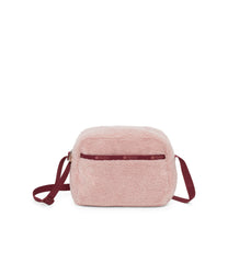 Daniella Crossbody, Nylon Handbags and Classic Purses, Pink Sherpa