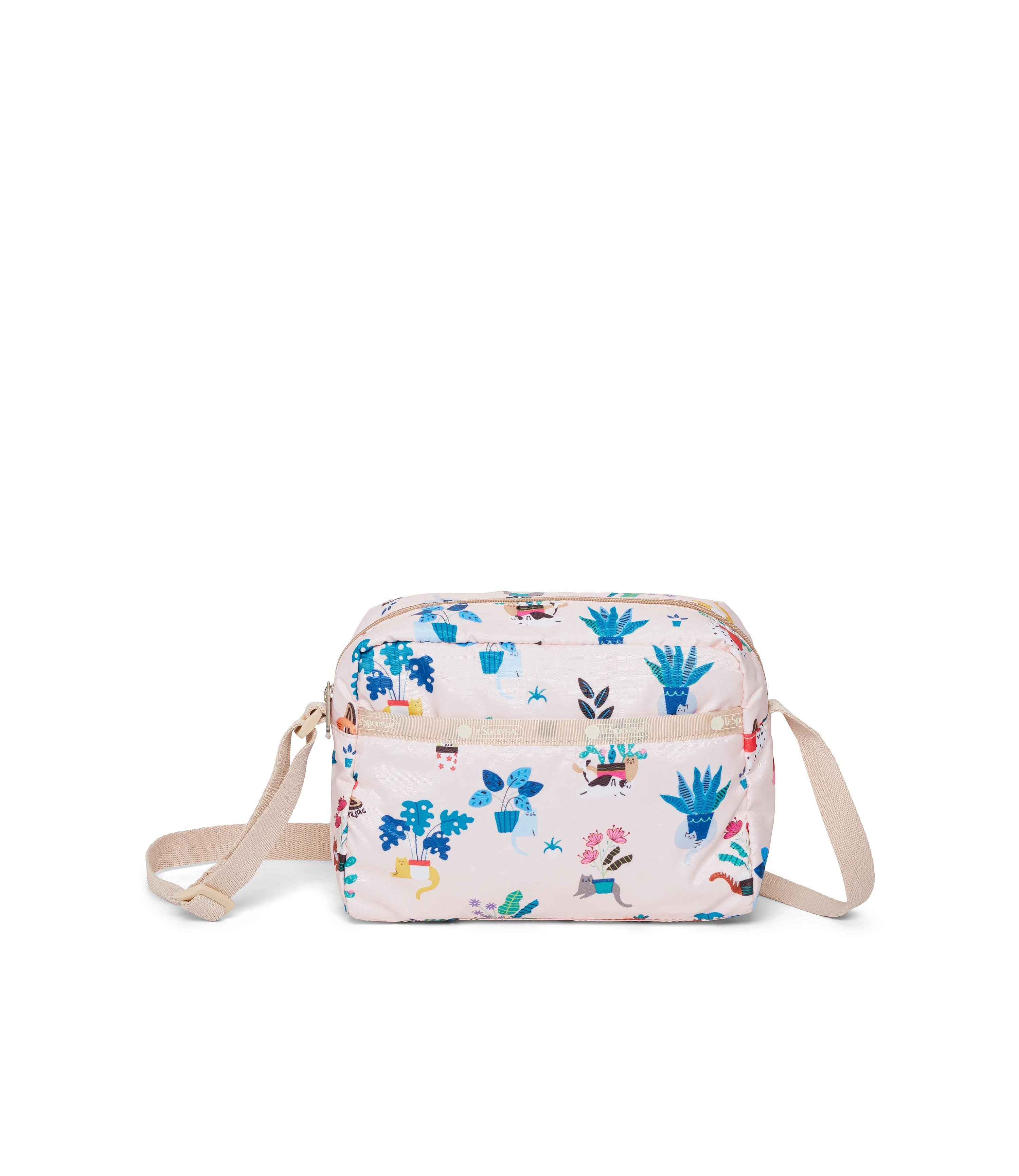 LeSportsac - Daniella Crossbody - Handbags - Comfy Cats print