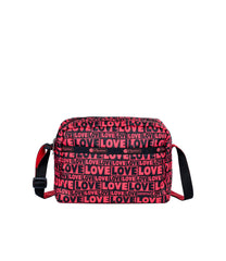 LeSportsac - Handbags - Daniella Crossbody - Only Love print