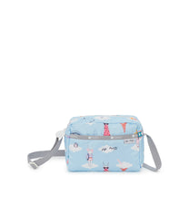Daniella Crossbody, Nylon Handbags and Classic Purses, Fifi Lapin, Fashion Bunny, Day Dreaming print