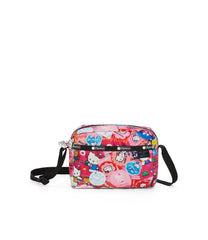 Daniella Crossbody, Nylon Handbags and Classic Purses, Hello Kitty Collector print
