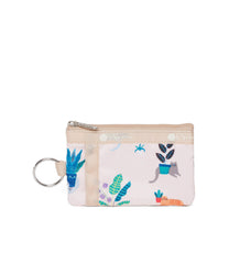 LeSportsac - ID Card Case - Accessories - Comfy Cats print