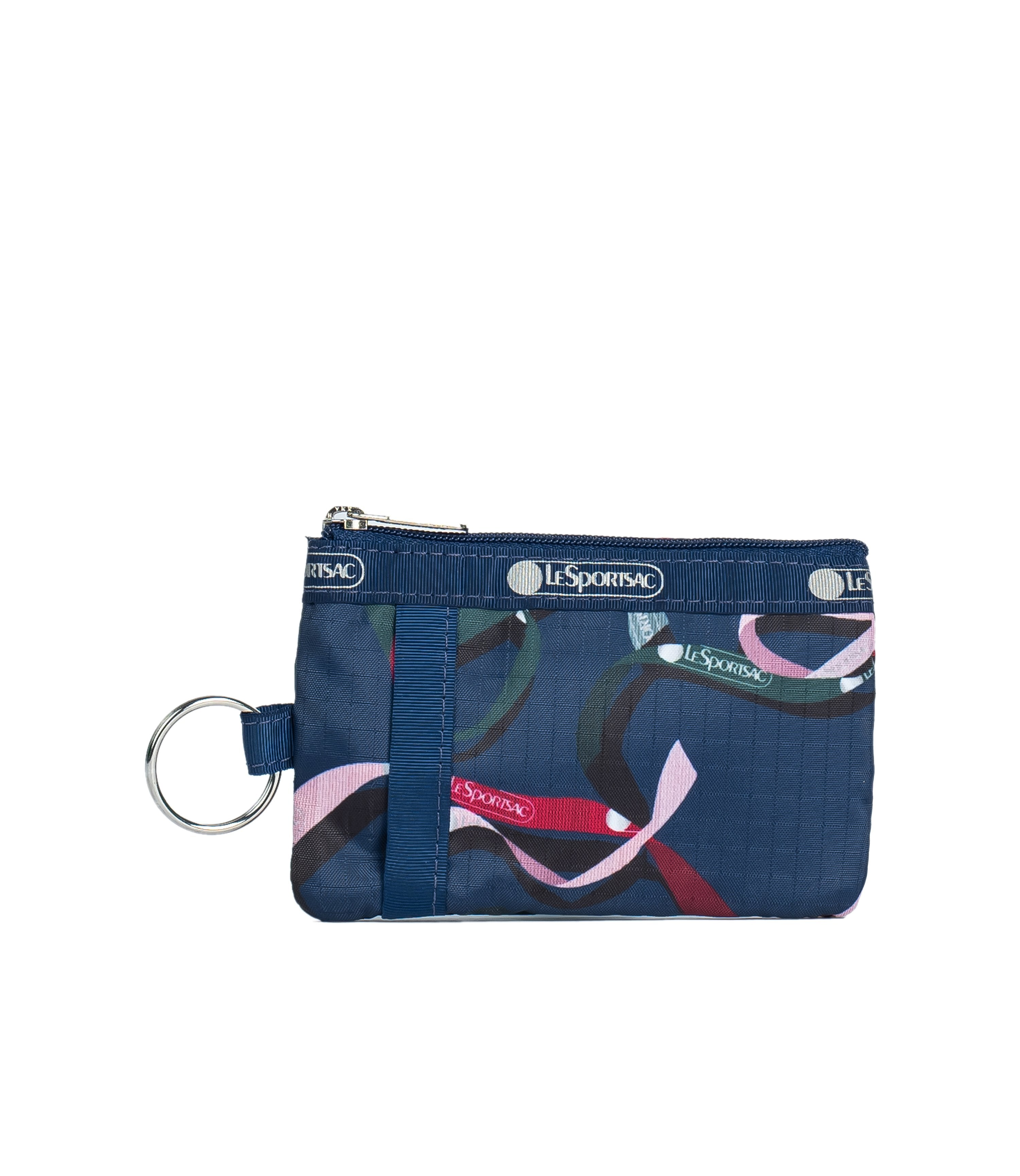 LeSportsac - Accessories - ID Card Case - Ribbons Navy print