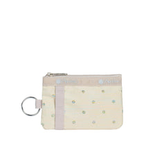 LeSportsac - Accessories - ID Card Case - Rainbow Dot jacquard