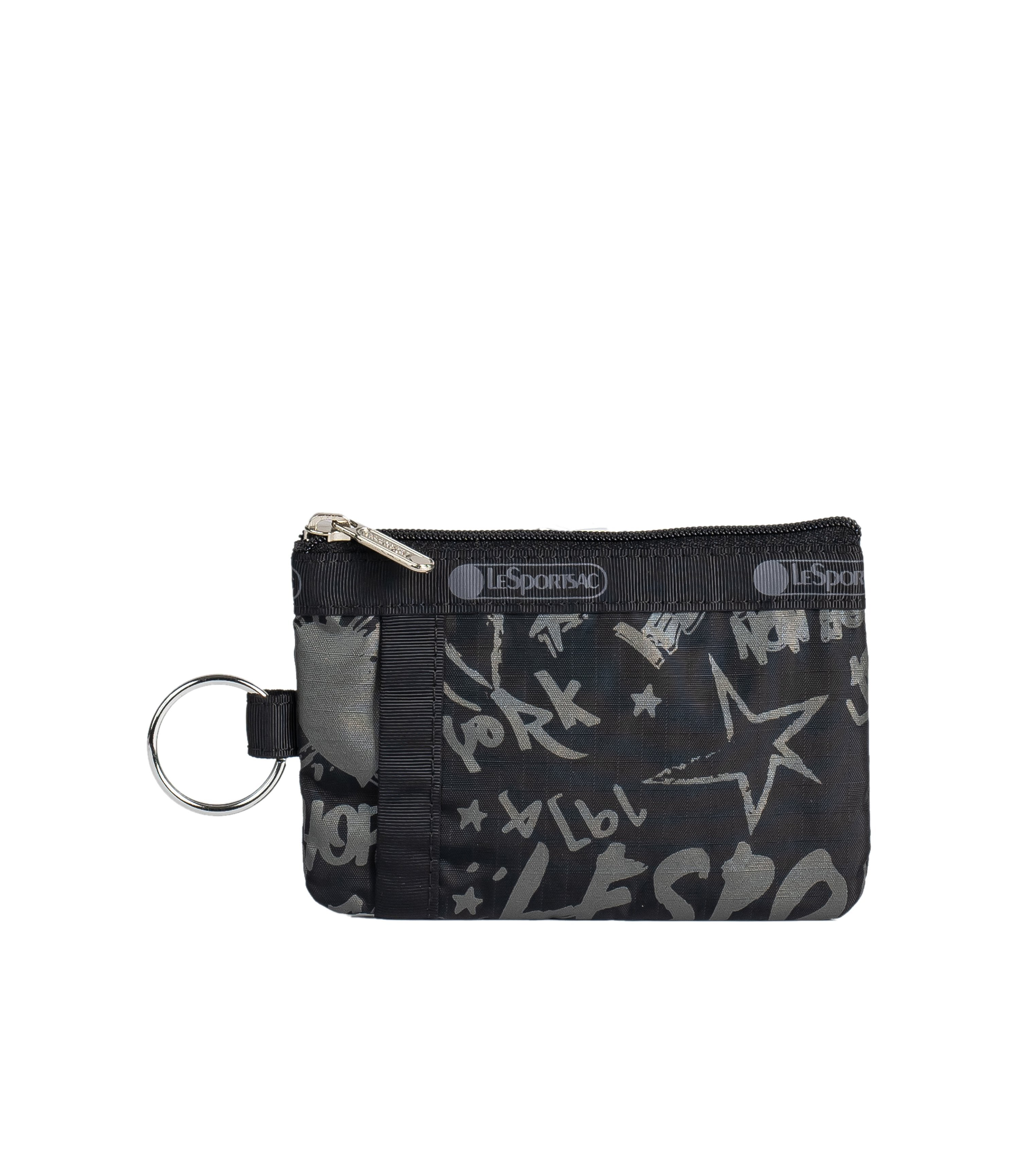 LeSportsac - Accessories - ID Card Case - LeSportsac City Script print