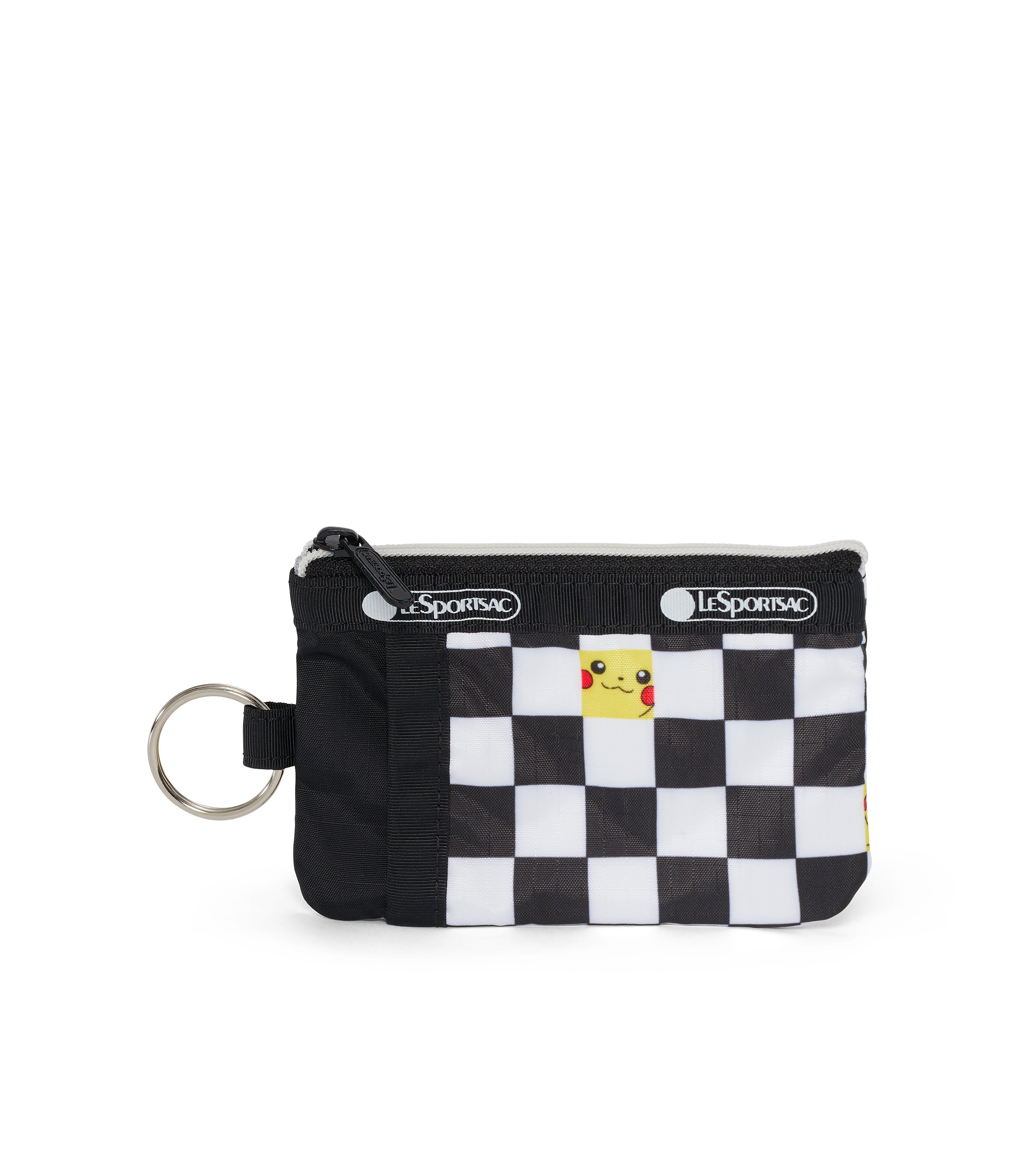 Pokemon - ID Card Case - Accessories - Pikachu Check - Front View