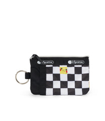 Pokémon ID Card Case-LeSportsac-Small-Pikachu-Wallet-front