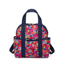 LeSportsac - Double Trouble Backpack - Backpacks - Bright Isle Floral print