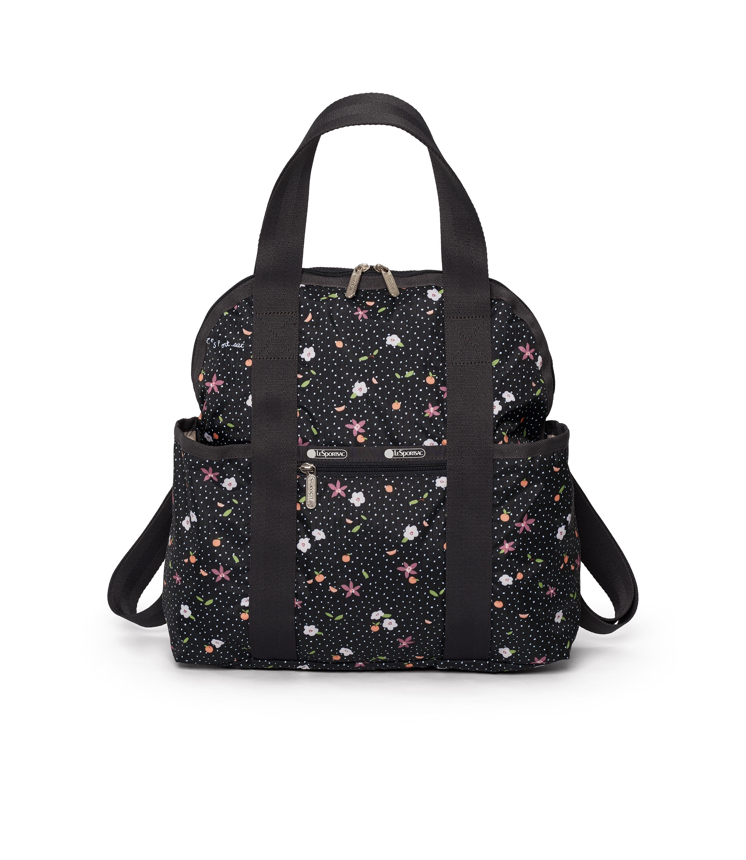 LeSportsac - Double Trouble Backpack - Backpacks - Fruity Petals print