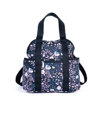 LeSportsac - Double Trouble Backpack - Backpacks - Dancing Roses Noir print