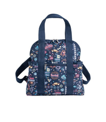 LeSportsac - Backpacks - Double Trouble Backpack - Neon Nights print