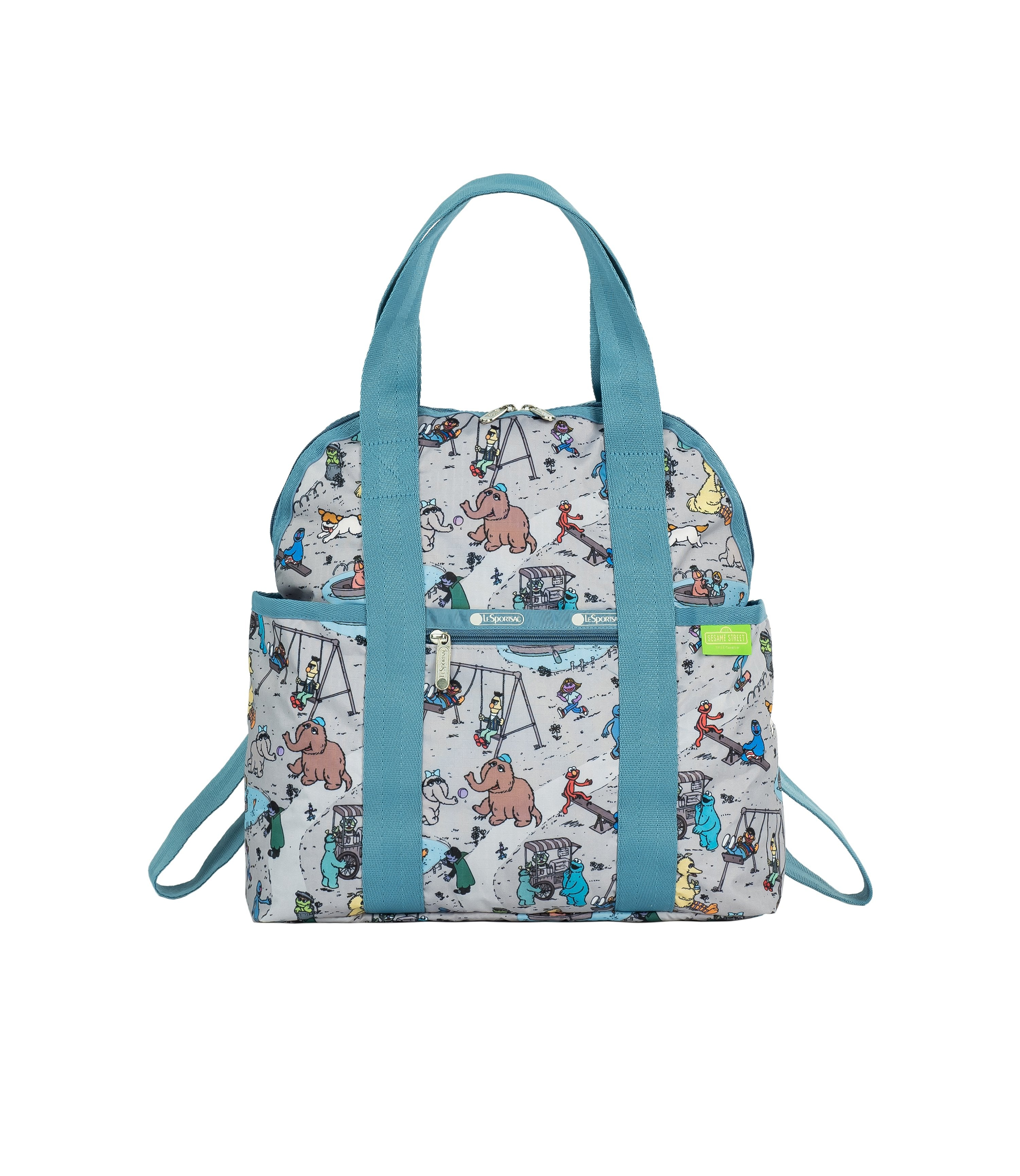 LeSportsac - Backpacks - Double Trouble Backpack - Sesame Park