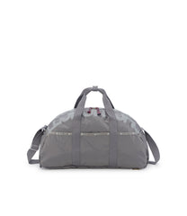 Convertible Weekender Bags, Duffle Bags, Backpack, LeSportsac, Gray, Rapid print