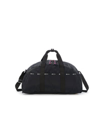 Convertible Weekender Bags, Duffle Bags, Backpack, LeSportsac, Black solid, Reflective