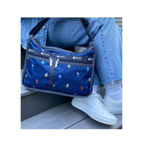 Dick Bruna - LeSportsac Deluxe Everyday Bag - Handbag - Miffy and Friends - Navy -  Social Image