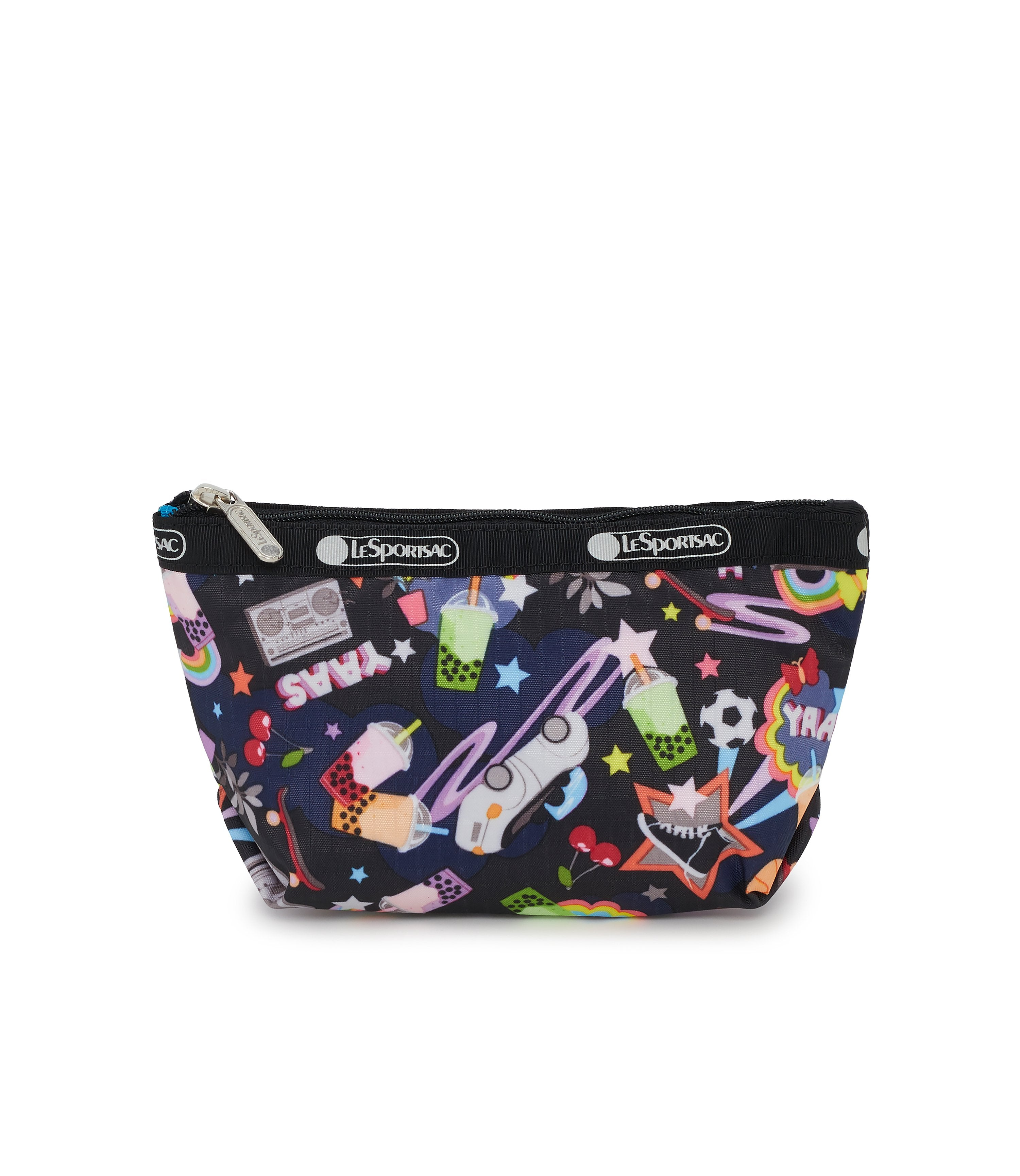 Small Sloan Cosmetic, Accessories and Cosmetic Bag, LeSportsac, Yaas print