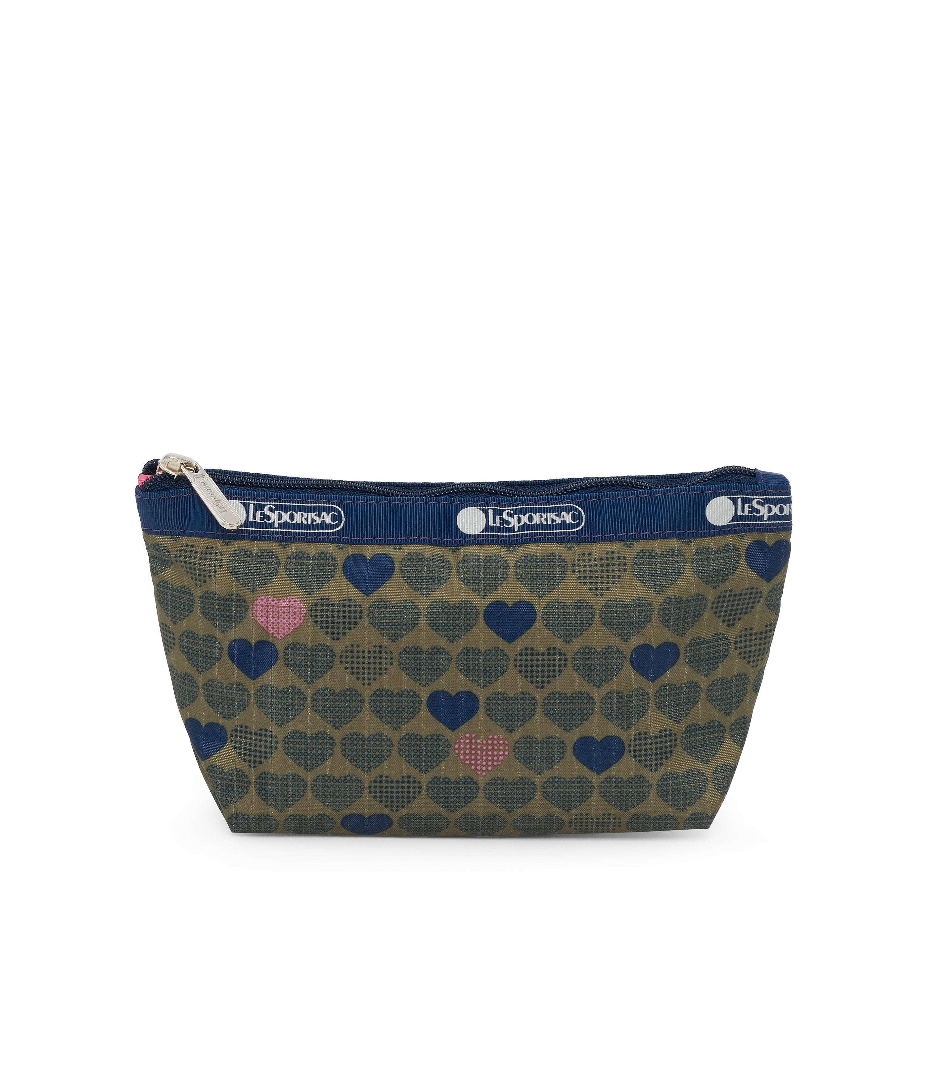 Small Sloan Cosmetic, Accessories and Cosmetic Bag, LeSportsac, Exclusive! Wait For Love print