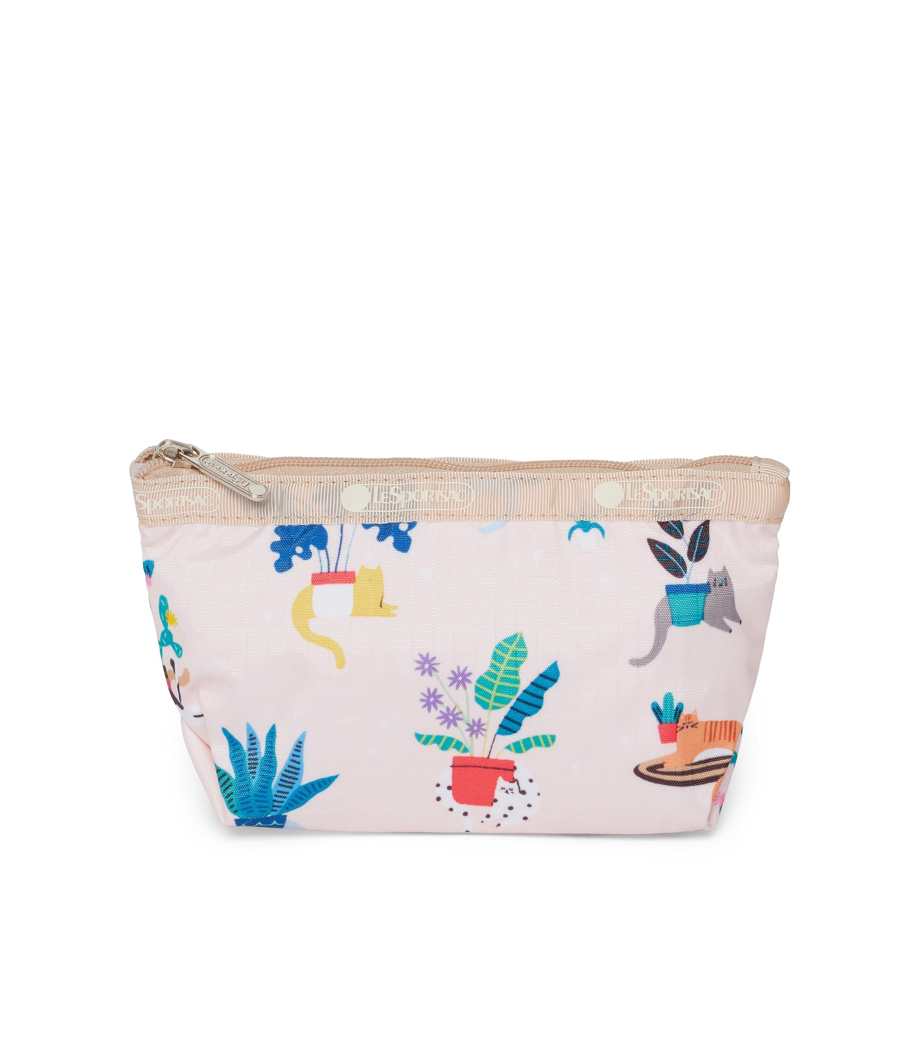 LeSportsac - Small Sloan Cosmetic - Accessories - Comfy Cats print