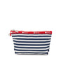 Shorey Stripe Navy print