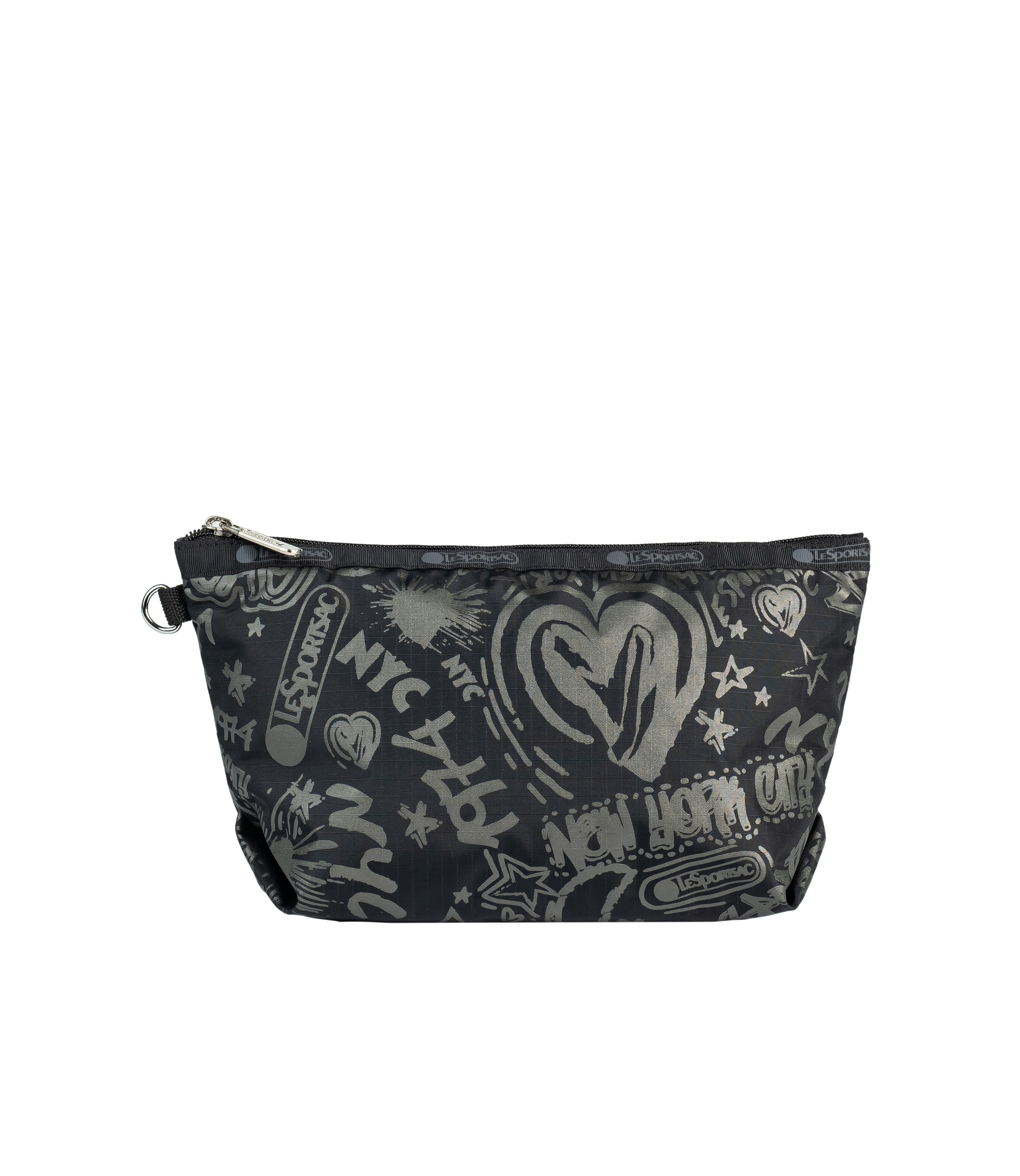 LeSportsac - Accessories - Medium Sloan Cosmetic - LeSportsac City Script print
