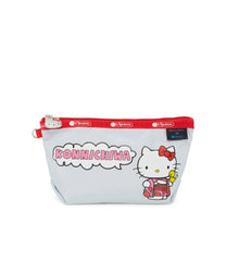 Medium Sloan Cosmetic, Accessories and Cosmetic Bag, LeSportsac, Konnichiwa Hello Kitty print