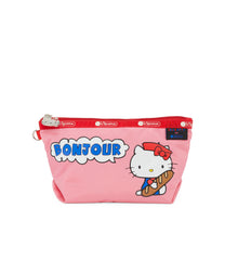 Medium Sloan Cosmetic, Accessories and Cosmetic Bag, LeSportsac, Salut Hello Kitty print