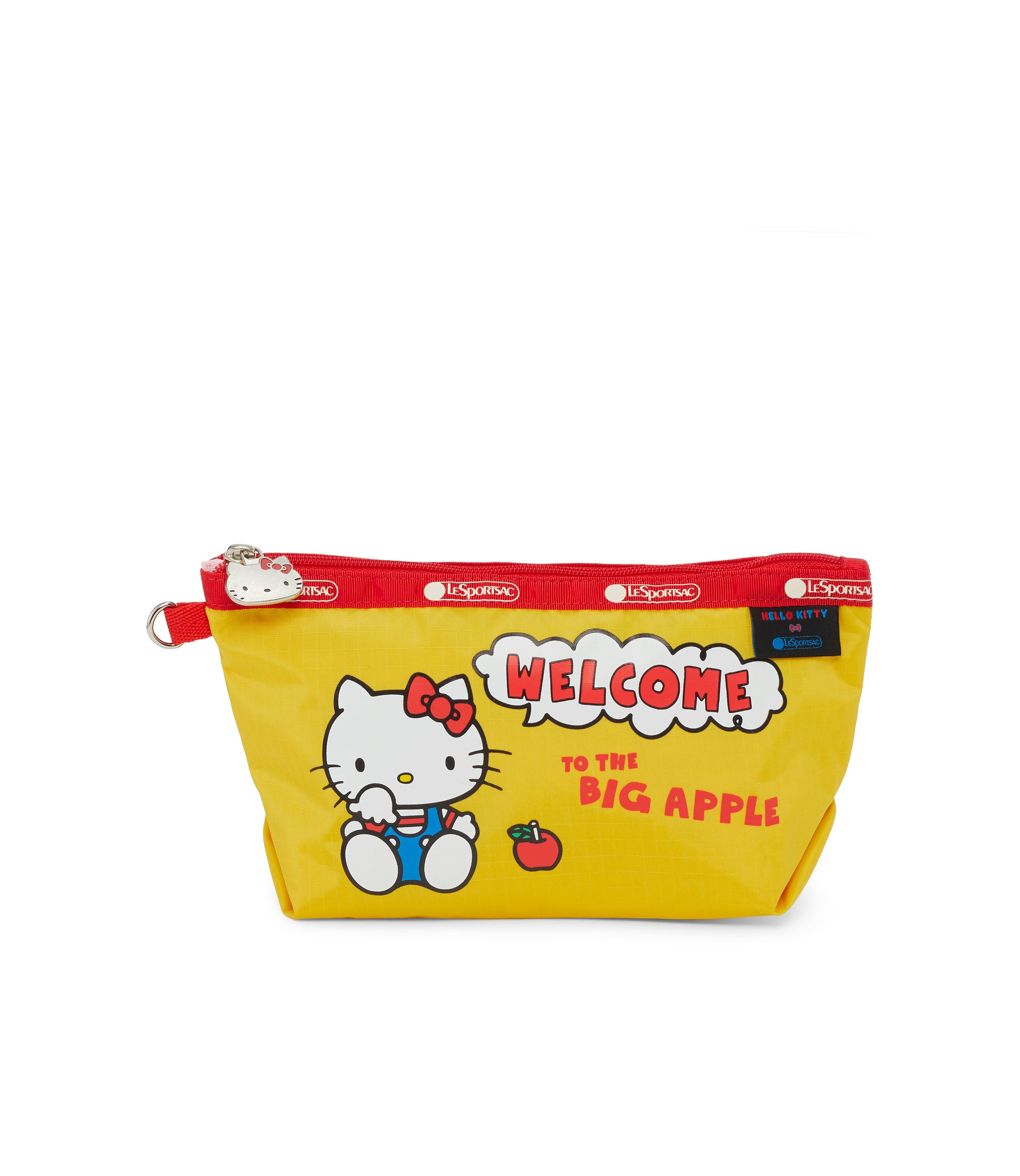 Medium Sloan Cosmetic, Accessories and Cosmetic Bag, LeSportsac, Cheers Hello Kitty print
