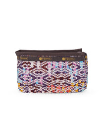 Cosmetic Organizer, Accessories and Cosmetic Bag, LeSportsac, Tulum Sunrise print