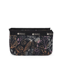 Cosmetic Organizer, Accessories and Cosmetic Bag, LeSportsac, Amaranth print