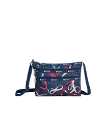 LeSportsac - Handbags - Quinn Bag - Ribbons Navy print