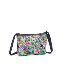 LeSportsac - Quinn Bag - Handbags - Exclusive! Aloha Market print - Back View