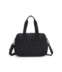 Harper Bag, Handbags and Crossbody Bags, Duffle Bags, LeSportsac, Matelasse Black Quilted